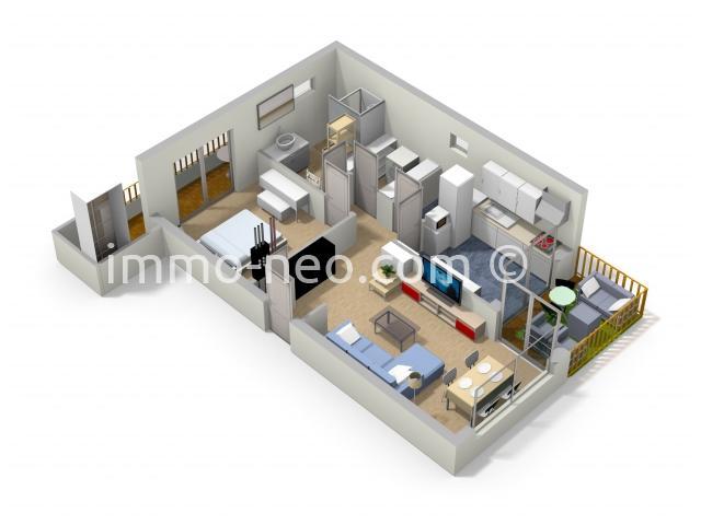 Sale apartment Cagnes-sur-Mer 2 Rooms 56 sqm