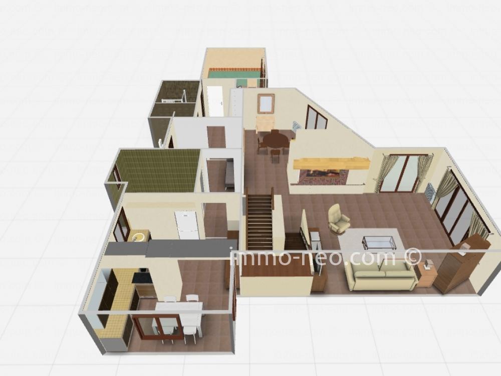 Vendita casa indipendente mougins 5 locali 180 m2 for Case con 4 camere da letto con seminterrato finito in vendita
