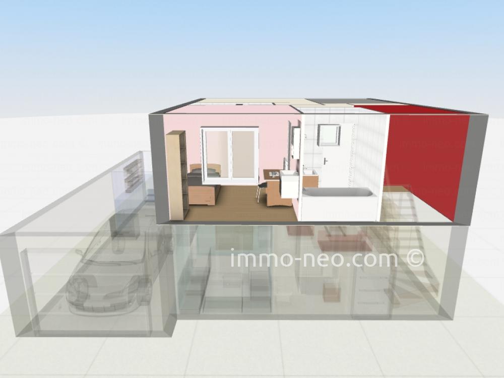 Vendita casa indipendente antibes 5 locali 85 m2 for Planimetrie a un piano con due master suite