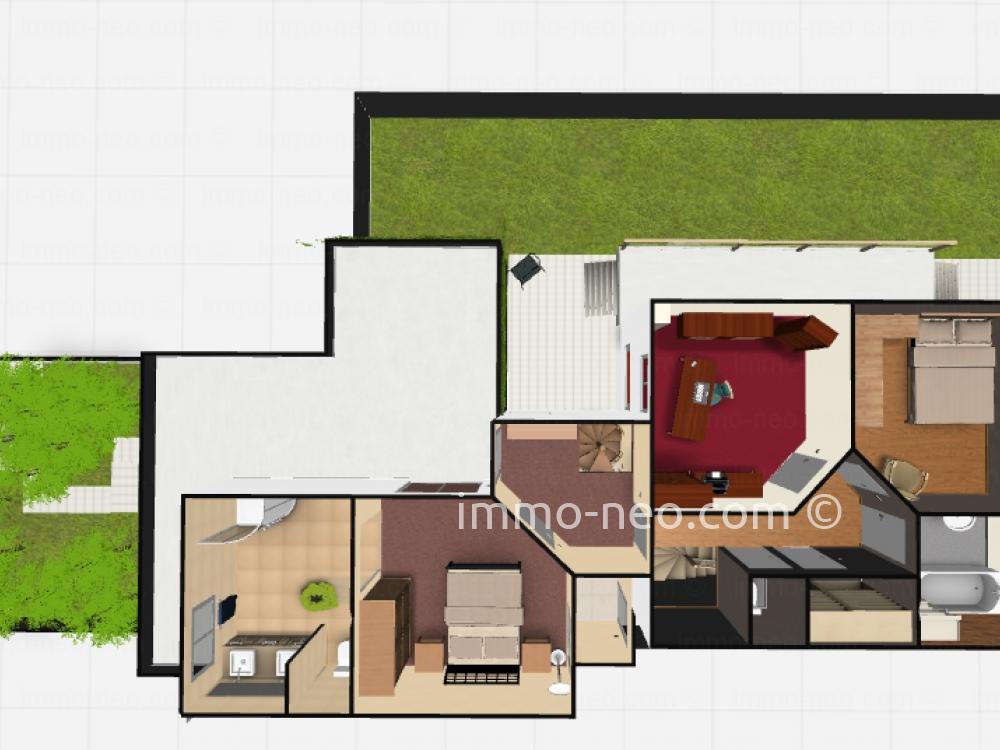 Vendita casa indipendente colombes 6 locali 150 m2 for Casa 750 piedi quadrati