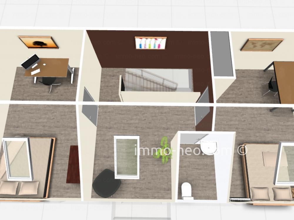 Vendita appartamento verri res le buisson 4 locali 102 m2 for Planimetrie seminterrato da 1000 piedi quadrati