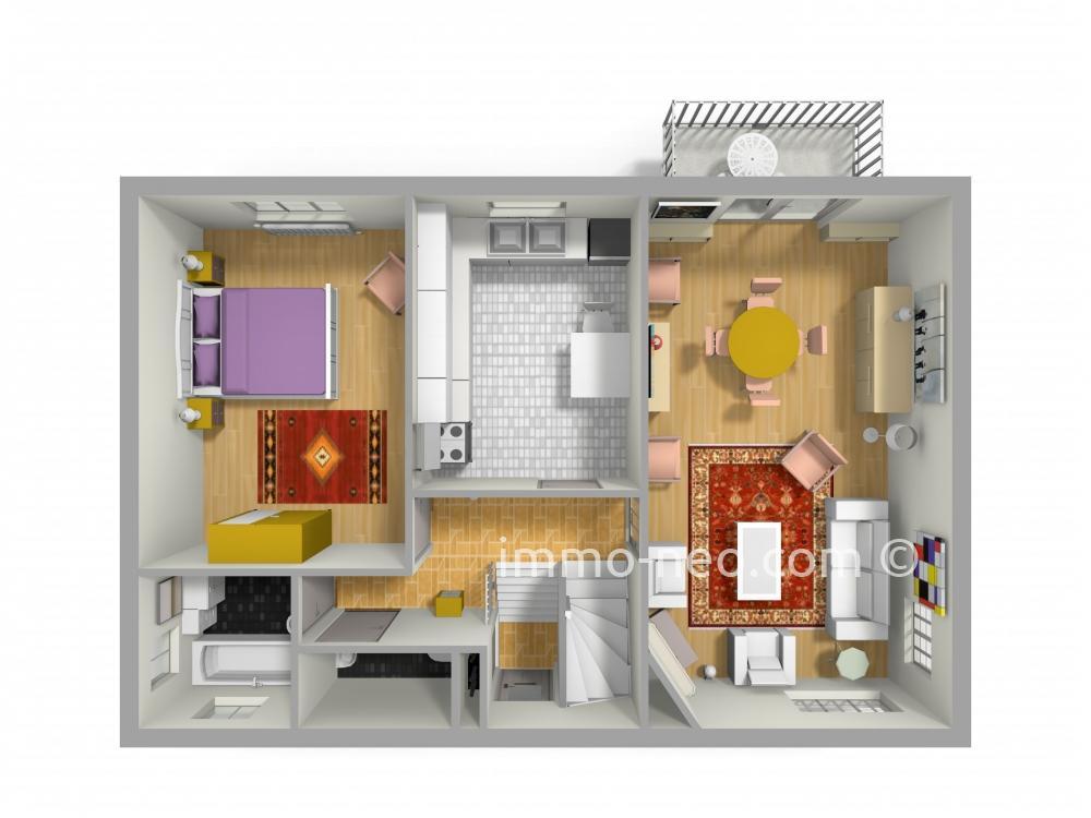 Vendita casa indipendente saint gratien 7 locali 130 m2 for Case con 4 camere da letto con seminterrato finito in vendita