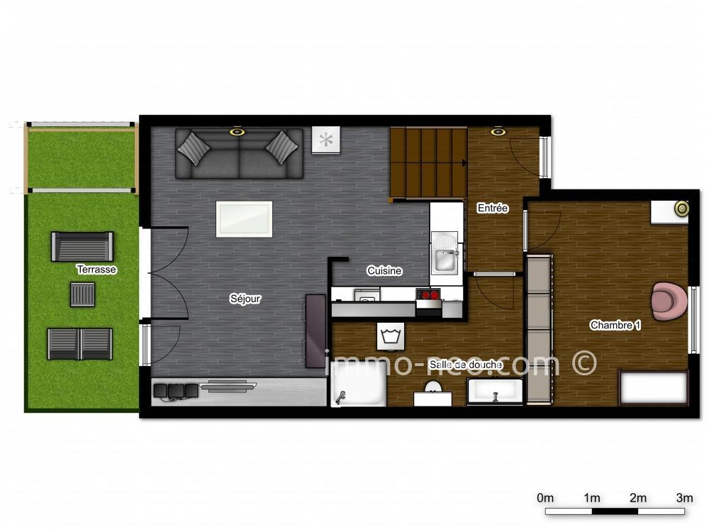 Vendita casa indipendente vallauris 2 locali 30 m2 for Casa di 750 m
