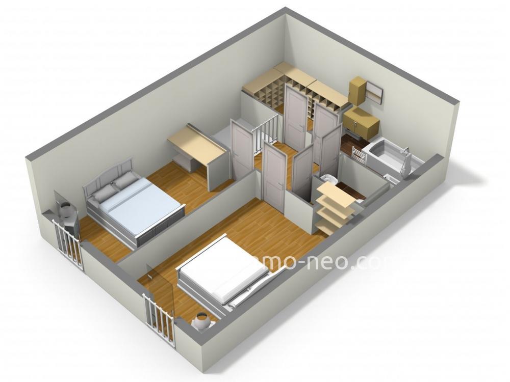 Vendita appartamento montpellier 3 locali 79 m2 for Planimetrie seminterrato da 1000 piedi quadrati