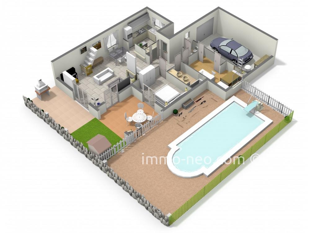 Vendita casa indipendente toulon 5 locali 115 m2 for Casa di 750 m