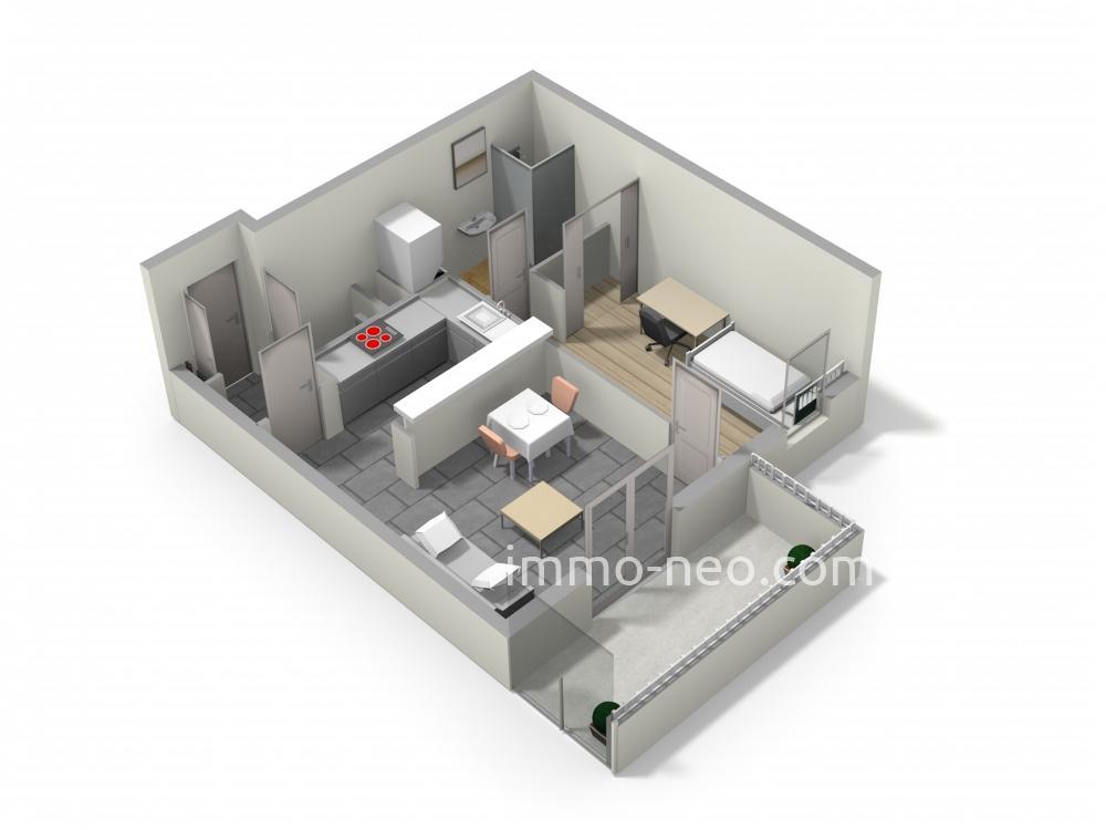 Vendita appartamento corbeil essonnes 2 locali 40 m2 for Planimetrie seminterrato da 1000 piedi quadrati