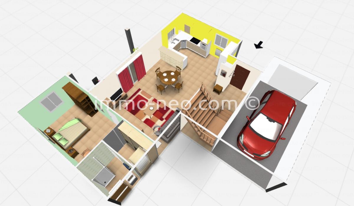 Vendita casa indipendente carros 4 locali 95 m2 for Piani di garage distaccati viventi del sud
