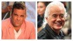 Robbie Williams e Jimmy Page: è guerra a suon di musica tra i due vicini di casa vip