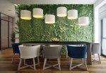 Giardini verticali in casa: la nuova frontiera green dell'interior design che migliora il micro-ecosistema