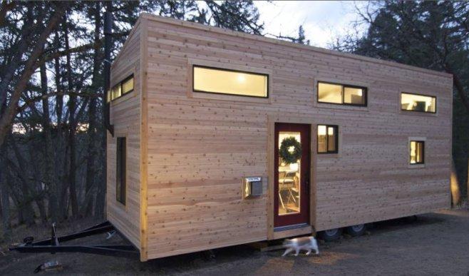 Comprare casa costa troppo ecco le mini case in legno for Mini case prefabbricate