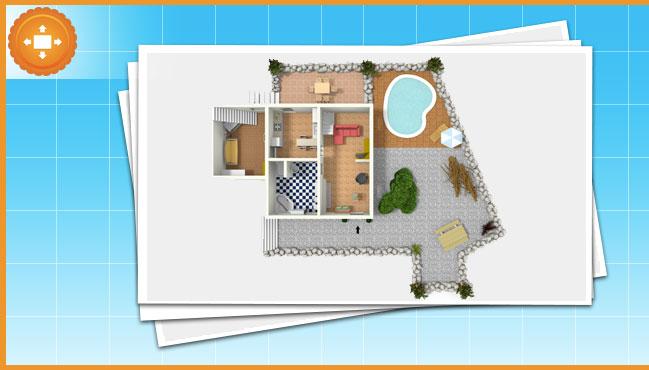 Le planimetrie 2d e 3d immo for Planimetrie della casa