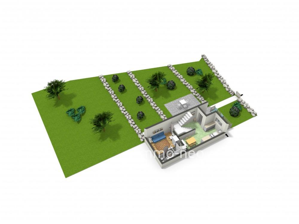 vente pavillons en enfilade finale ligure 3 pi ces 140 m2. Black Bedroom Furniture Sets. Home Design Ideas