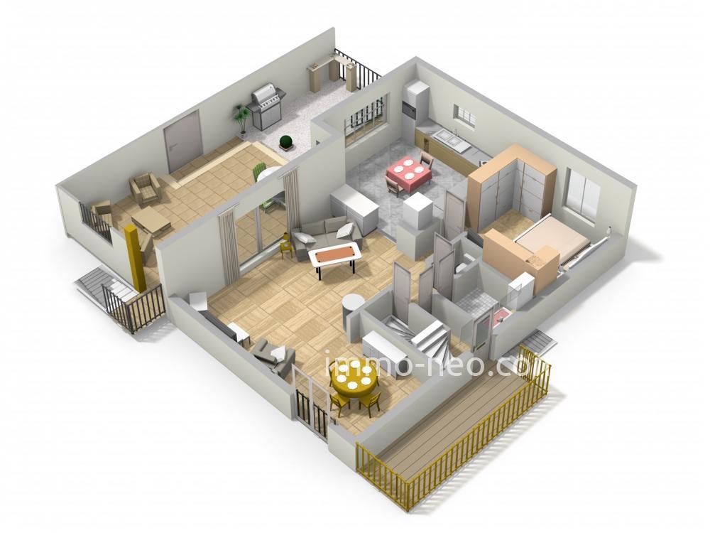 Vente maison individuelle epinay sur orge 5 pi ces 118 m2 for Chambre 9m2 loi