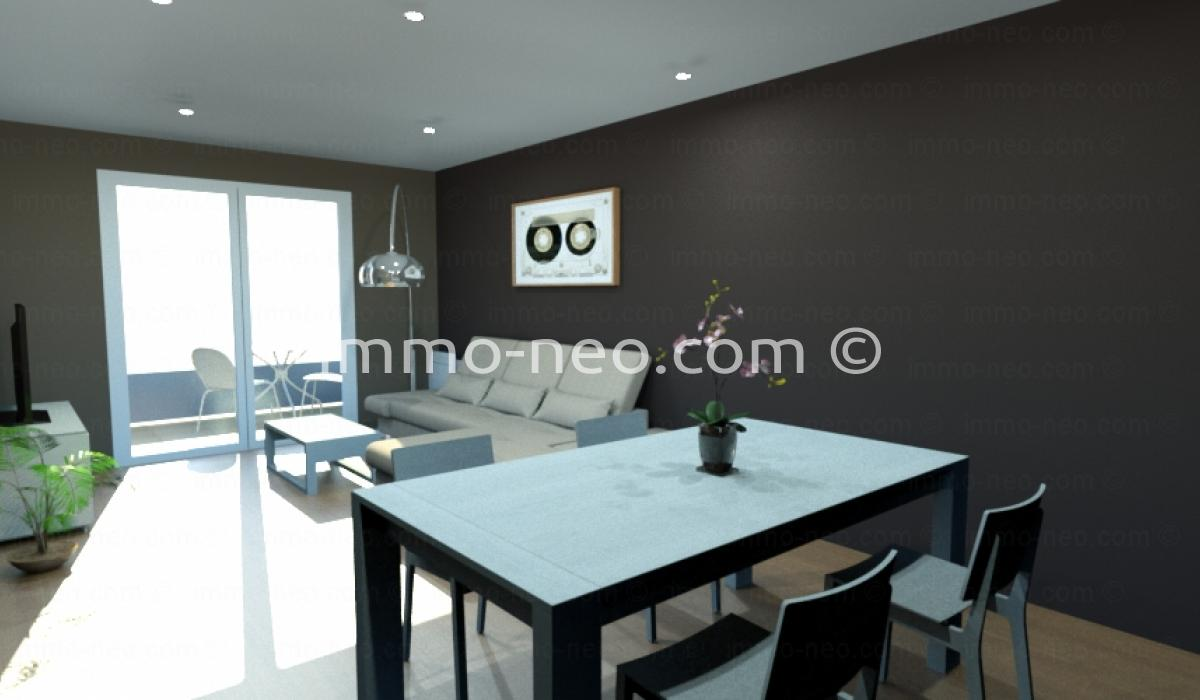 vente appartement saint laurent du var 3 pi ces 62 m2. Black Bedroom Furniture Sets. Home Design Ideas