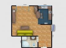 Vente appartement Antibes Studio 26 m2