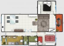 Vente appartement Antibes 3 Pièces 71 m2