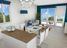 Vente appartement Puget-sur-Argens 3 Pièces 63 m2