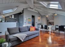 Vente appartement sous toits Pavia  120 m2