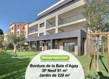Vente appartement Saint-Raphaël 3 Pièces 91 m2