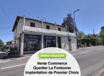 Vente commerce Antibes  85 m2