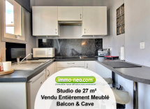 Vente appartement Juan-les-Pins Studio 27 m2