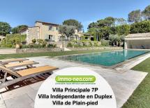 Vente maison-villa Valbonne 11 Pièces 378 m2