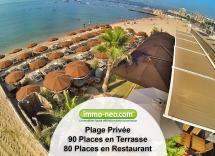 Vente plage privée Fréjus  1086 m2