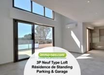 Vente loft Saint-Raphaël 3 Pièces 95 m2