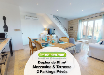 Vente appartement Saint-Pierre-de-Mézoargues 2 Pièces 54 m2