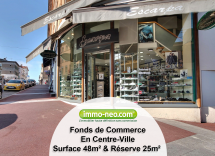 Vente commerce Saint-Raphaël  48 m2