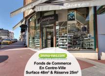 Vente commerce Saint-Raphaël  48 m2