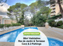 Vente appartement Cannes-la-Bocca 3 Pièces 88 m2