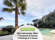 Vente maison-villa Grasse 7 Pièces 190 m2