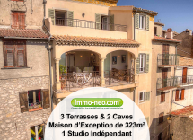 Vente maison-villa La Roquette-sur-Var 10 Pièces 323 m2