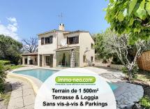 Vente maison individuelle La Colle-sur-Loup 8 Pièces 165 m2