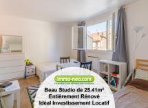Vente appartement Asnières-sur-Seine Studio 25 m2
