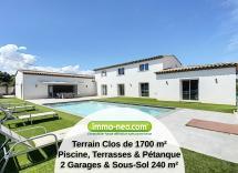 Vente maison individuelle Cagnes-sur-Mer 6 Pièces 210 m2