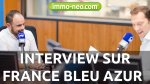 immo-neo.com en interview sur France Bleu Azur !
