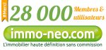 Déjà plus de 28 000 internautes ont créé leur compte gratuitement sur immo-neo.com