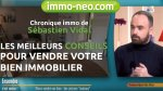 Les meilleurs conseils pour vendre votre bien immobilier I Sébastien Vidal sur France 3