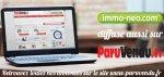 immo-neo.com débarque sur paruvendu.fr