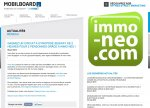 immo-neo.com en partenariat avec Mobilboard France...