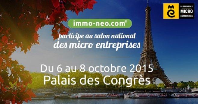 Immo participe au salon national des micro entreprises - Salon des micros entreprises ...
