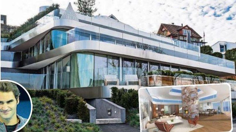 La nuova casa di roger federer for 5 000 piani di casa quadrati