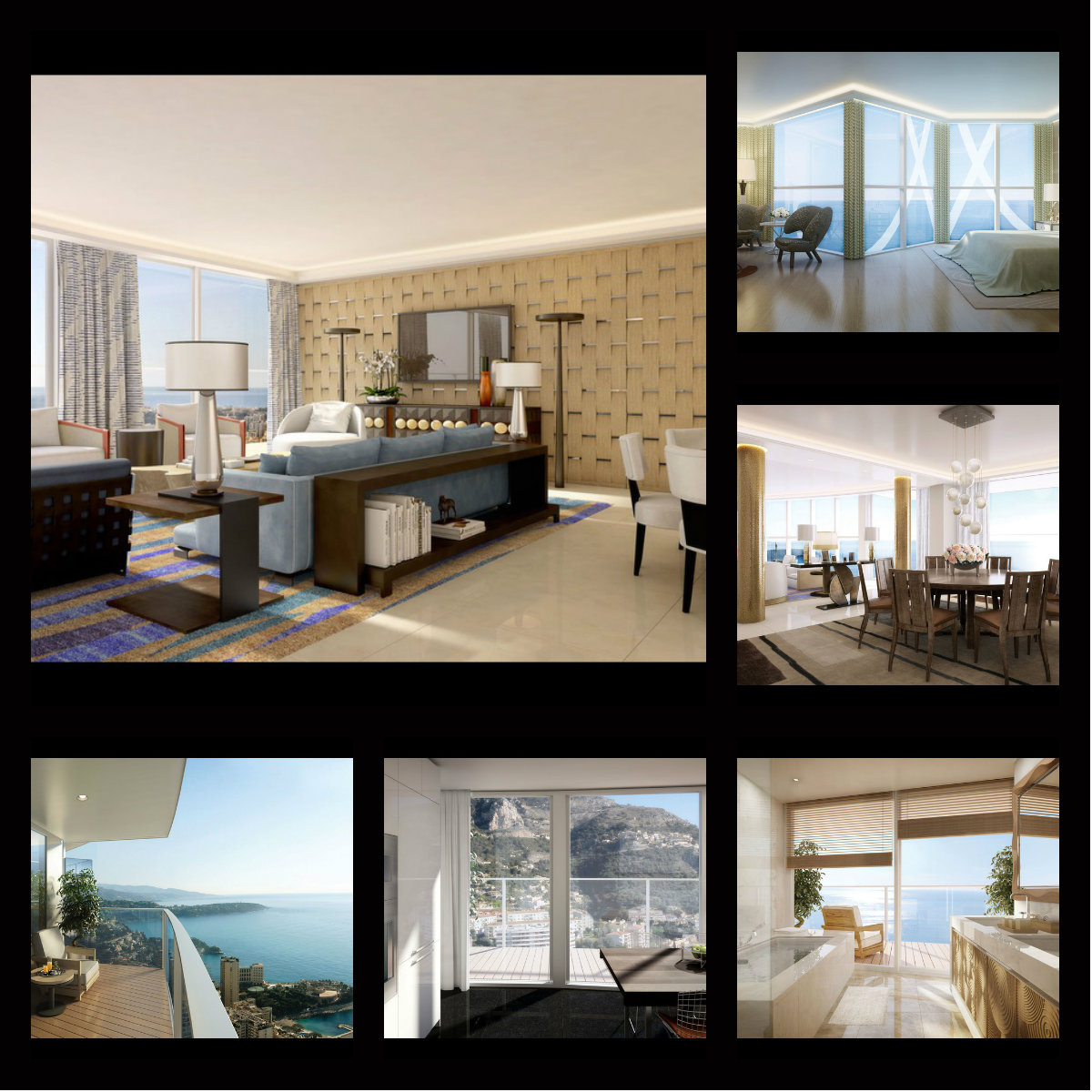 monaco l 39 appartement le plus cher du monde 300 millions d 39 euros. Black Bedroom Furniture Sets. Home Design Ideas