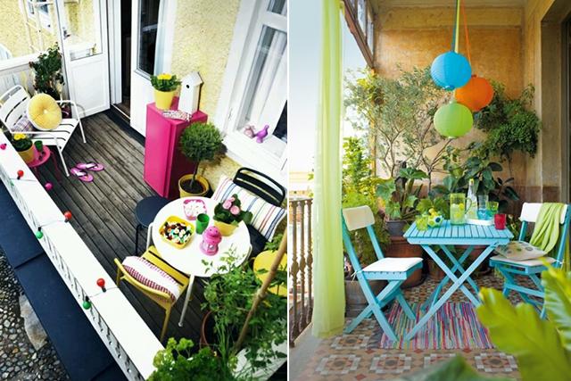Arredi Per Piccoli Balconi : Quattro consigli per gli spazi esterni della tua casa!
