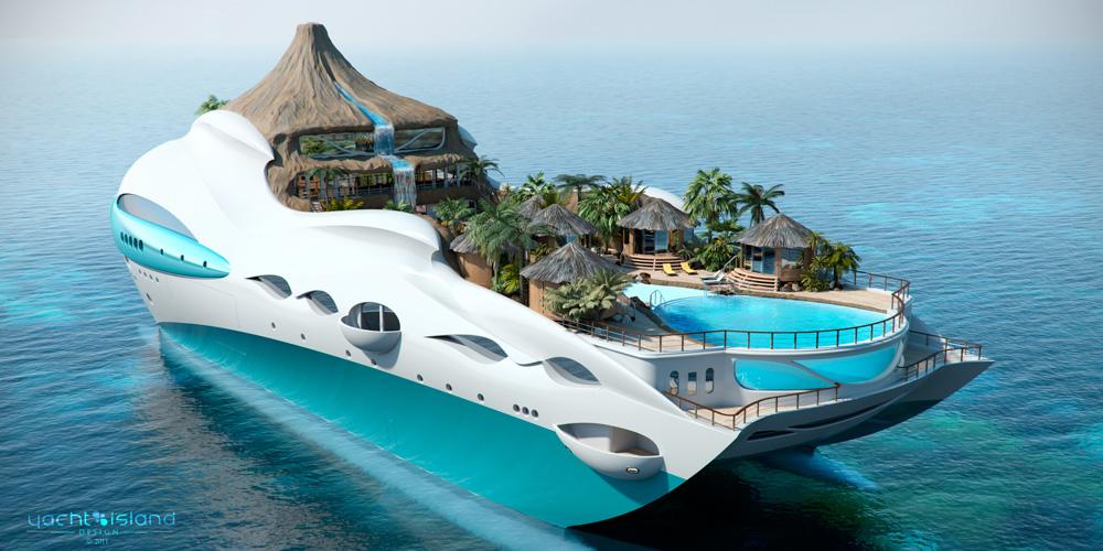 Una casa di lusso su un 39 isola in movimento tutto for Disegni di lusso di una storia a casa